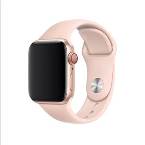 Apple Watch Sport Band 38mm only - Pink Sand